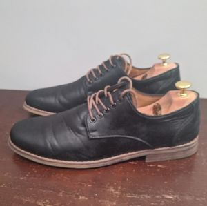 Call It Spring Casual Navy Leather Shoes 10